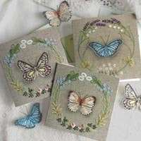 Greetings Cards_Butterflies Selection A