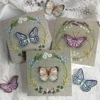Greetings Cards_Butterflies Selection B