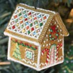 Jennifer Jones's Gingerbread Cottage