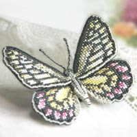 pink-jezebel_butterfly brooch_cross-stitch kit