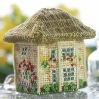 rosebay-cottage_3D cross-stitch kit
