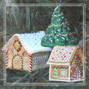 teeny-christmas_3D cross-stitch kit
